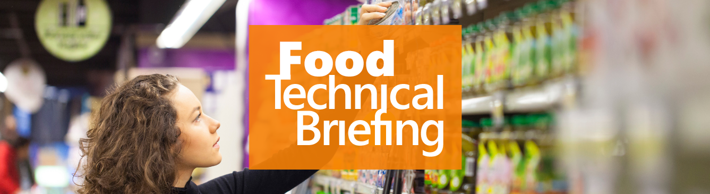 FoodTechnicalBriefing
