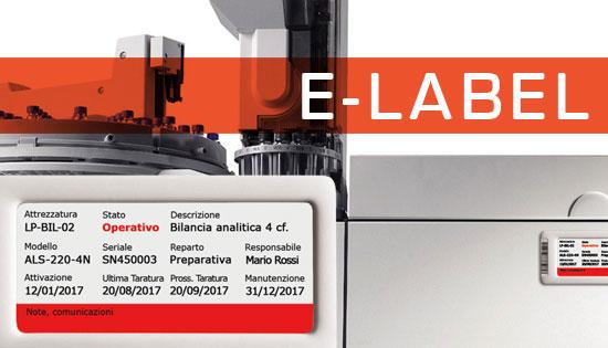 E-Label le etichette elettroniche per le attrezzature di laboratorio