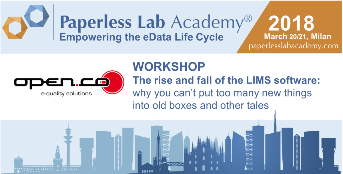 Open-Co al Paperless Lab Academy 2018