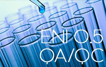 ENI 0.5 - QA/QC