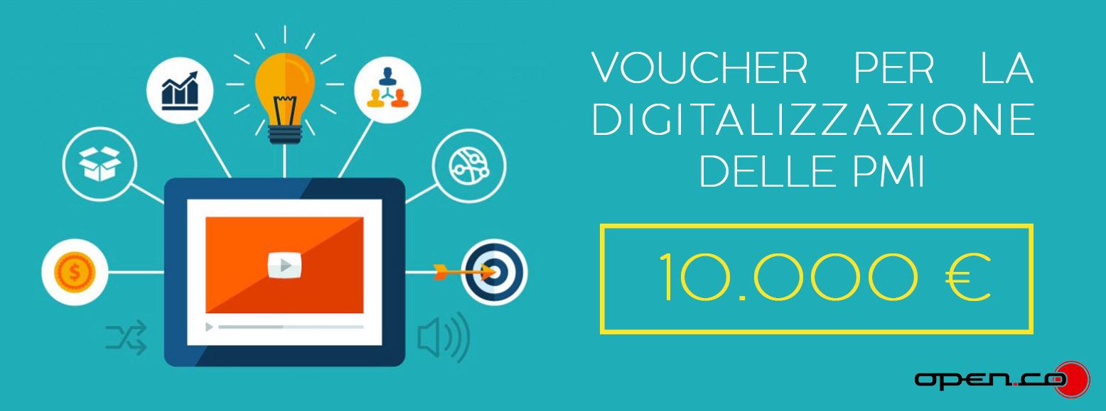 Voucher per la Digitalizzazione 2018