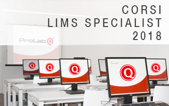 LIMS Specialist training course 2018