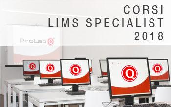 Formazione LIMS Specialist 2018