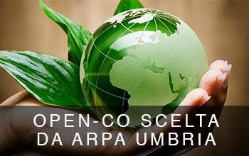 Open-Co selezionata da ARPA Umbria