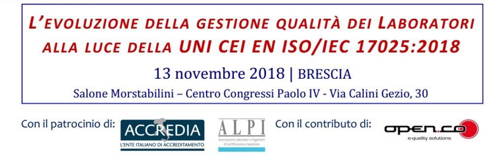 Evento nuova ISO 17025:2018