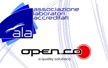 Open-Co sponsor dell'evento ALA sulla 17025:2018 il 13 novembre 2018