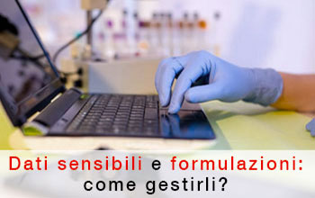 Come gestire le formulazioni in laboratorio?