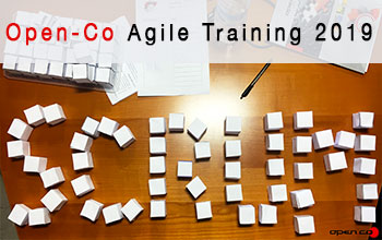 Open-Co Agile training 2019
