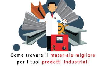 Come trovare il materiale migliore per i tuoi prodotti industriali