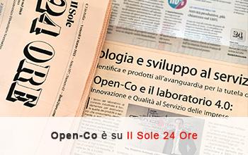 Open-Co e Prolab.Q sono su Il Sole 24 Ore