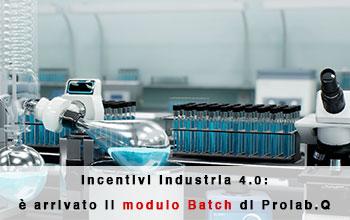 Il modulo Batch per garantire bidirezioalità tra la strumentazione di laboratorio e il LIMS Prolab.Q